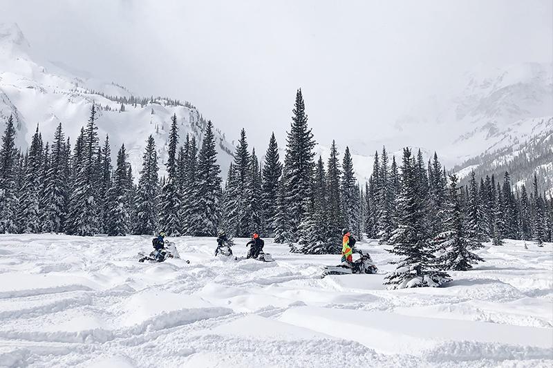 excursion motoneige Haute-Savoie